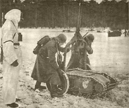 Самоходная немецкая мина «Goliath» Goliath-wehrmacht