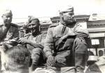 Солдаты Красной Армии в Бухаресте