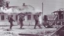 Бойцы СС на марше,Украина,июль 1941