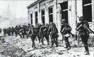 22 июня 1941 года: одно из подразделений 130-го пехотного полка Вермахта входит в Брест