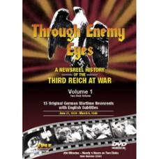 Германское еженедельное обозрение (Взгляд глазами врага) выпуск 1 / Through Enemy Eyes (Die Deutsche Wochenschau) Vol. 1 (2 DVD)